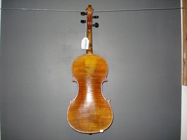 A Mirecourt Violin of the Caussin School circa 1880 (3)