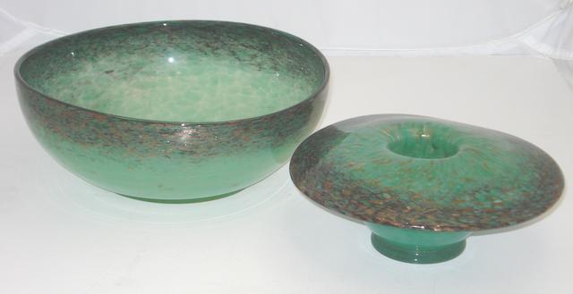 Two Monart bowls