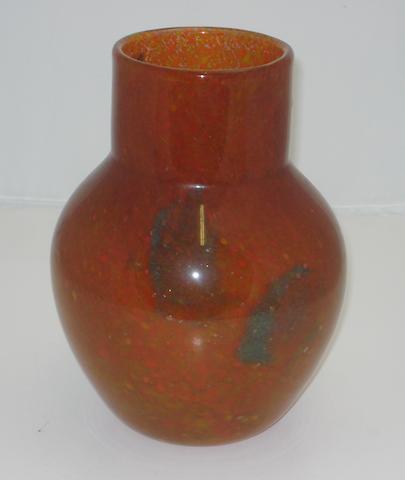 A Monart vase Shape N