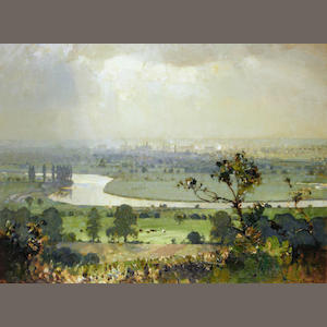 Sir John Alfred Arnesby Brown (British, 1866-1955) Trent Valley