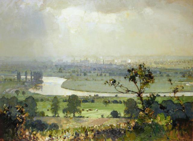 Sir John Alfred Arnesby Brown (British, 1866-1955) Trent Valley