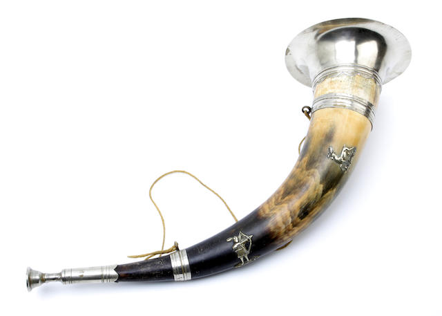 A hunting horn