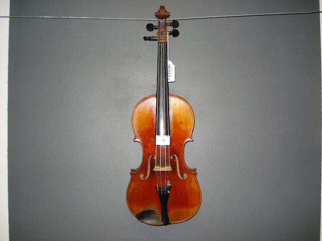 A Mircourt Violin of the Grandjon School circa 1880 (4)