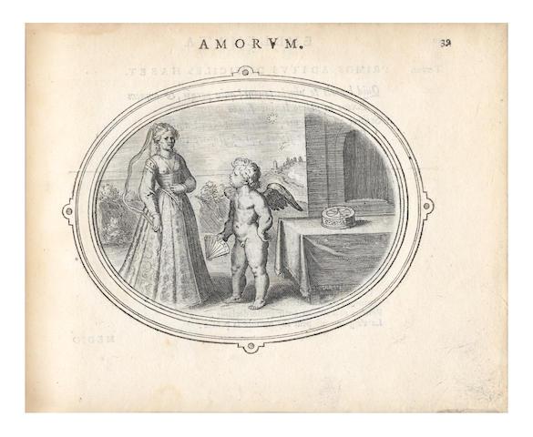 VEEN (OTTO) Amorum emblemata, figuris Aeneis incisa, 1608