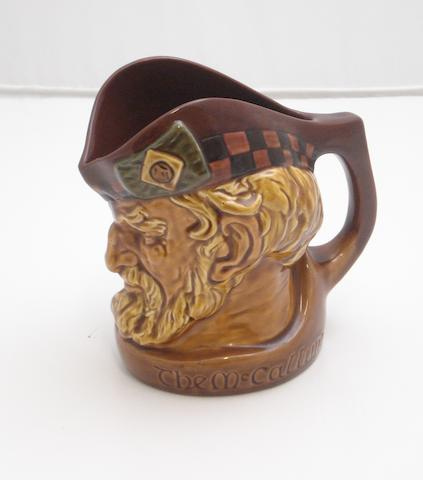 A rare Royal Doulton character jug entitled 'The McCallum'