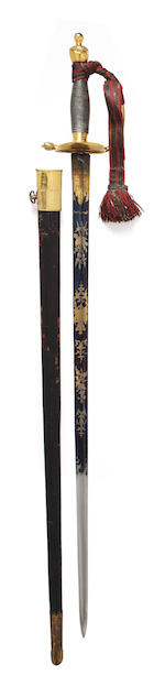A 1796 Pattern Infantry Officer's Sword
