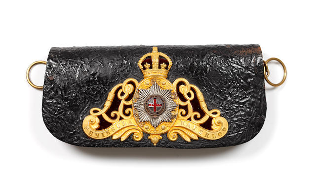 The Life Guards, an Officer's Post 1902 Full Dress Flap Pouch