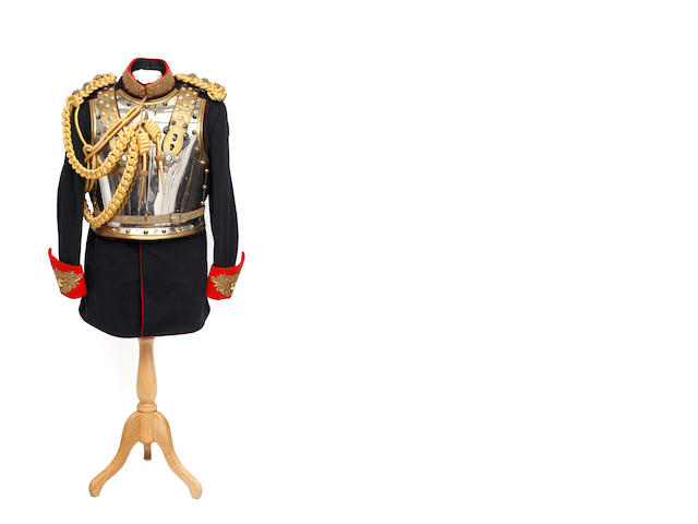 Royal Horse Guards, an Officer's Full Dress Tunic, Breast and Back Plates