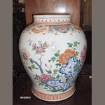 A 19th century Chinese famille rose baluster vase