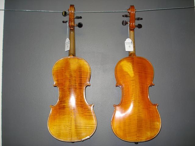 A Mirecourt Breton Violin circa 1900 (4)
