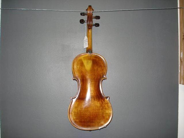 A Mirecourt Violin of the Caussin School circa 1880 (4)