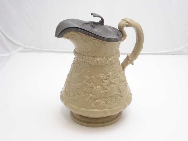 A W.Ridgway & Co Tam O Shanter stoneware jug Early 19th century