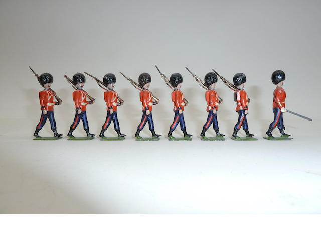 Britains set 107, Irish Guards 8