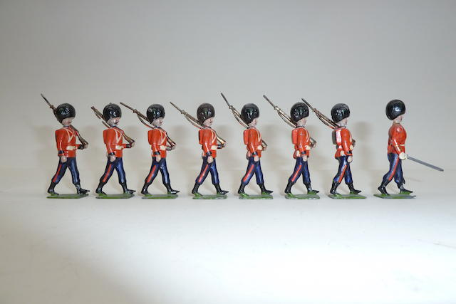 Britains set 107, Irish Guards 8