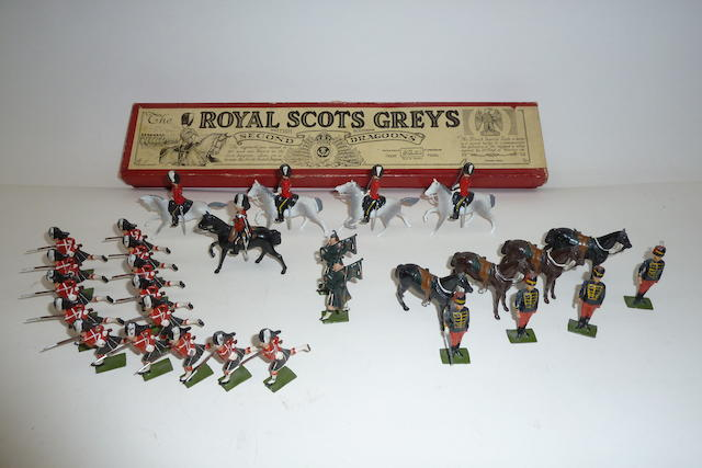 Britains set 32, Royal Scots Greys 30