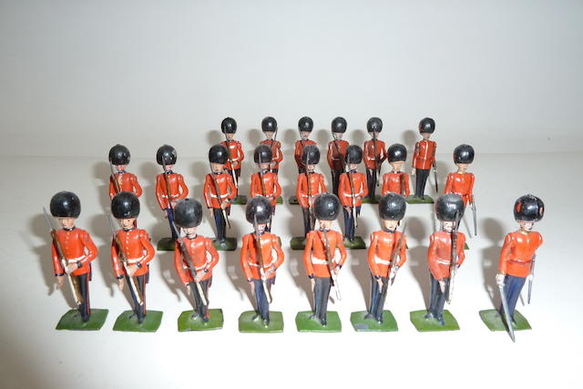 Britains set 205, Coldstream Guards at present 22