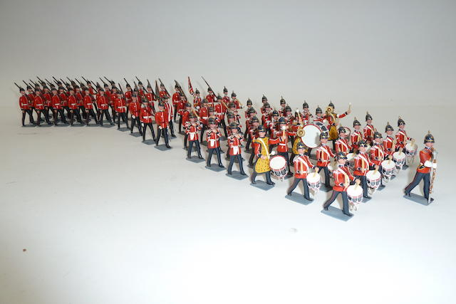 Britains repainted: Drums and Fifes of the Queen's (West Surrey) Regiment 72