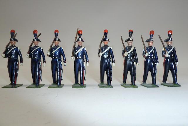 Britains set 1437, Italian Carabinieri 8