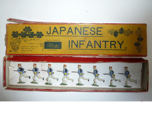 Britains set 134, Japanese Infantry 8