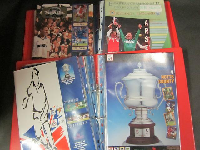 A collection of miscellaneous Barnsley football club items