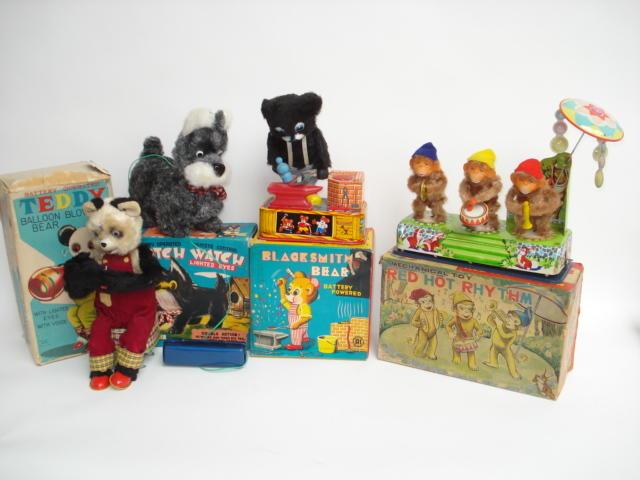 Japanese battery operated Novely toys 4
