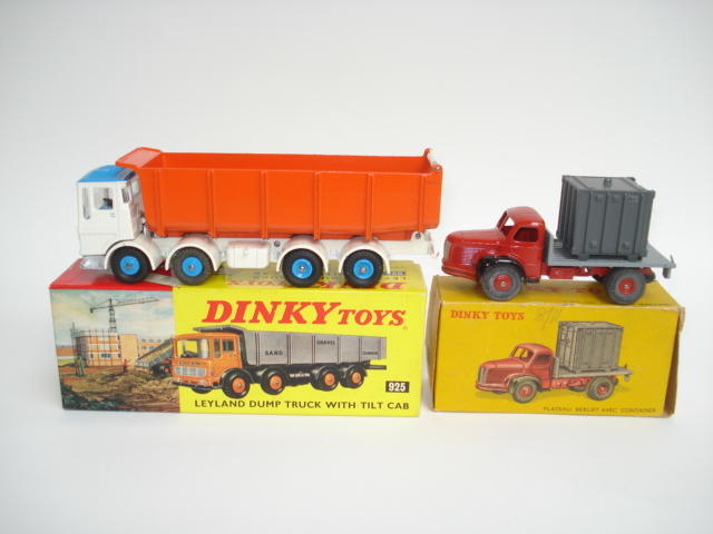 Dinky English and French trucks 10