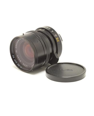 Leica Elmarit M 28mm f2.8  lens,