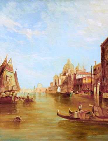 Alfred Pollentine (British, 1836-1890) The Grand Canal, Venice
