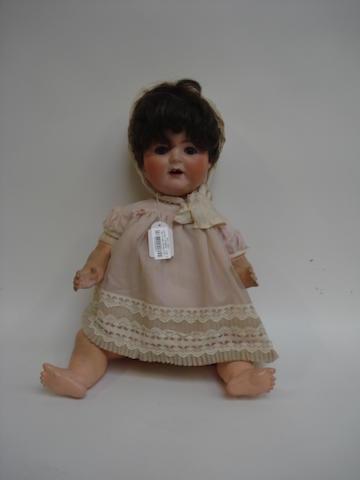 Simon & Halbig 126 bisque head doll