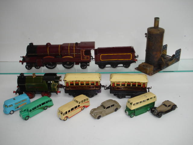 Hornby Series, Dinky and Meccano lot