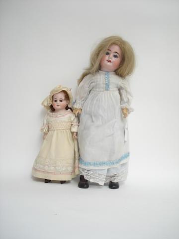 A.M 1894 bisque head doll 2