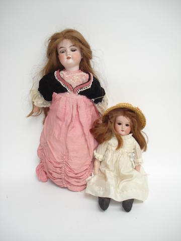 A.M 390 bisque head doll 2