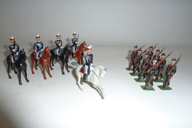 Britains Belgian Cavalry and Prussian Infantry 13