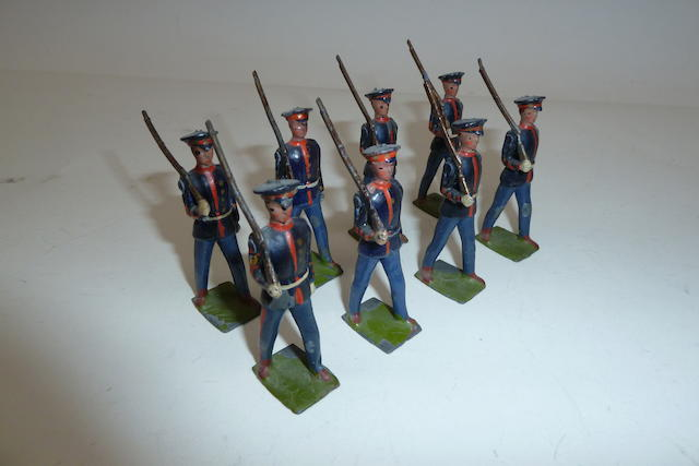 Britains set 228, U.S.Marines 8