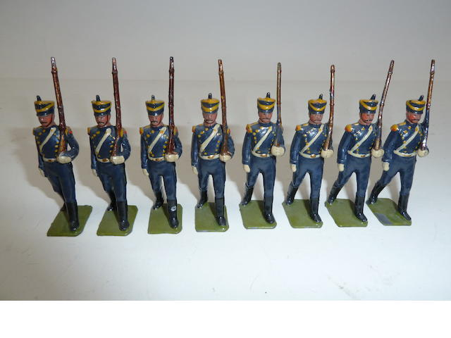 Britains set 216, Argentine Infantry 8