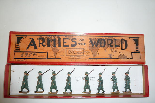 Britains set 1435, Italian Infantry in steel helmets 8