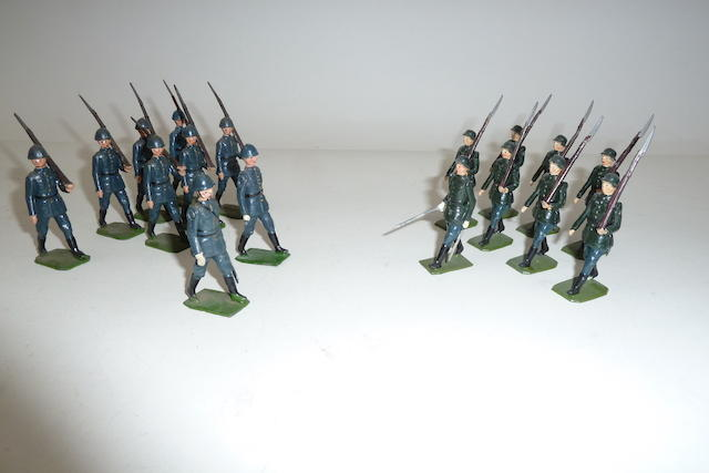 Britains set 1856, Polish Infantry 17