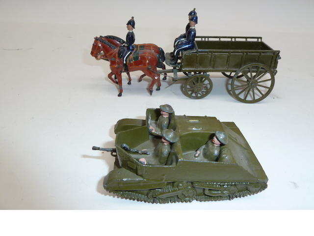 Britains set 146, Army Service Corps Supply Wagon 9
