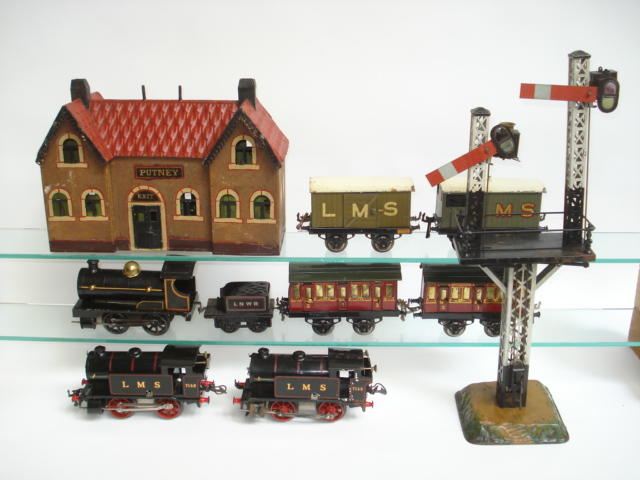 Hornby Series trains lot
