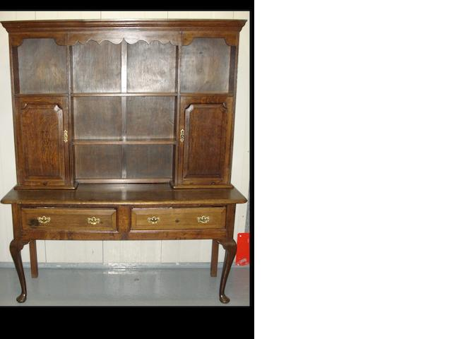 An oak dresser, 156cm wide