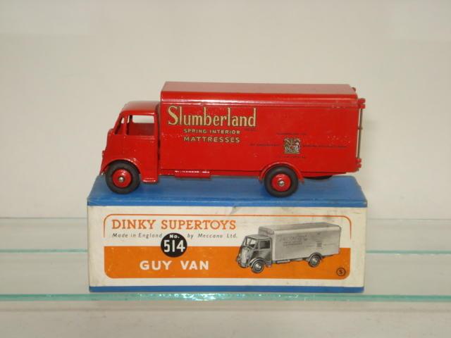 Dinky 514 Slumberland Guy van