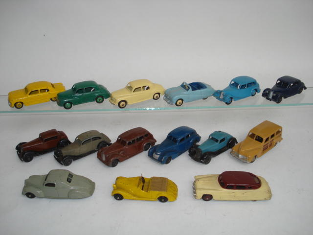 Dinky cars lot