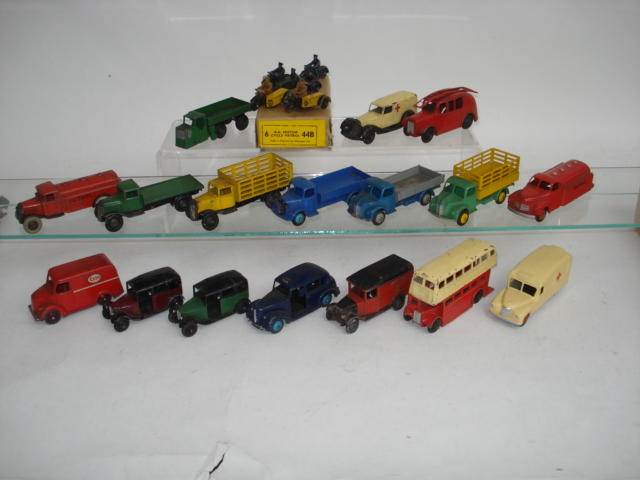 Dinky Commercials and Public Service lot
