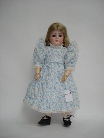 Limbach 'Wally' bisque head doll
