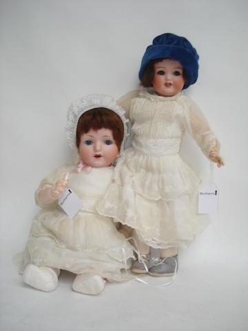 Heubach Koppelsdorf 342 bisque head doll 2