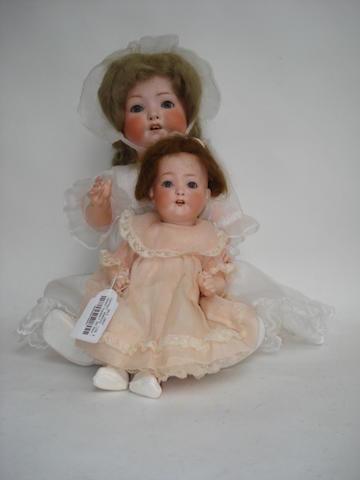 Heubach Koppelsdorf 320 bisque head doll 2