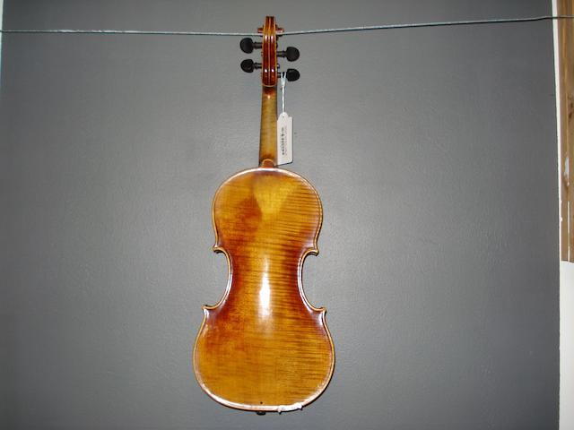 A Violin of the Schoenbach School circa 1920 (2)