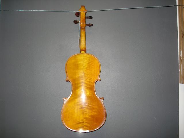 Four Contemporary Violins (11)