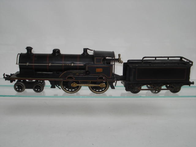 Bing for Bassett-Lowke c/w 4-4-0 George the Fifth locomotive and tender