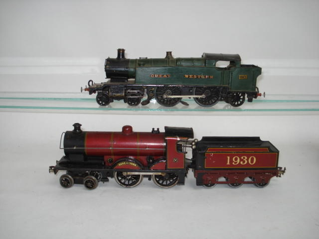Bassett-Lowke c/w 4-4-0 Duke of York locomotive and tender 1930 2